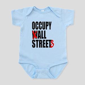Occupy Graffiti Logo Infant Bodysuit