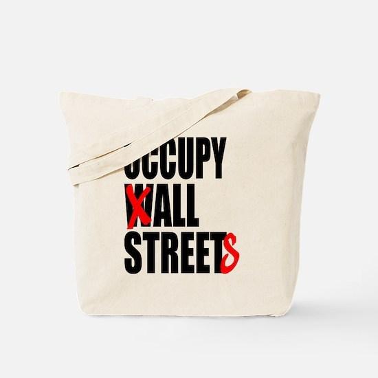 Occupy Graffiti Logo Tote Bag