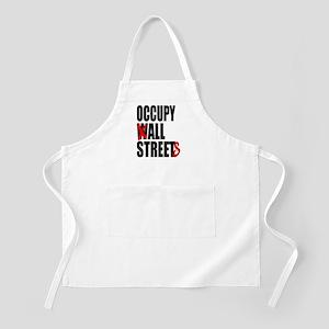 Occupy Graffiti Logo Apron