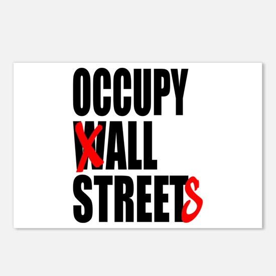 Occupy Graffiti Logo Postcards (Package of 8)
