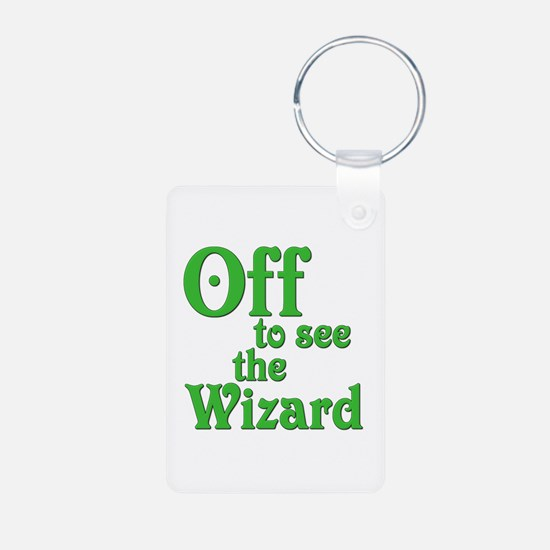 Off To See The Wizard The Wizard of Oz Keychains