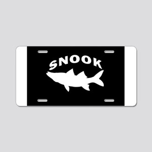 SIMPLY SNOOK Aluminum License Plate