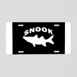 SIMPLY SNOOK Aluminum License Plate
