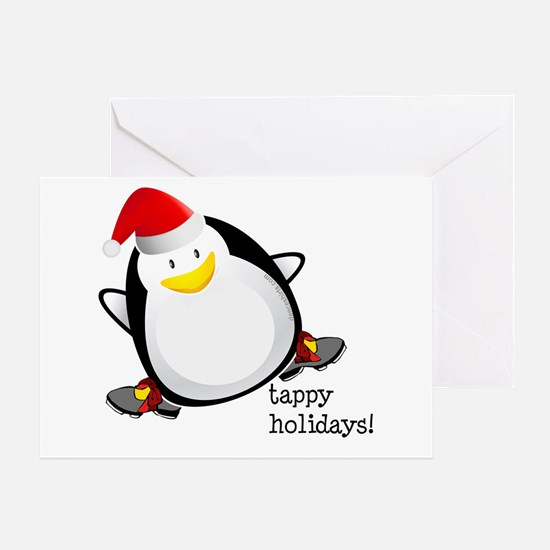 Tappy Holidays! by DanceShirts.com Greeting Card