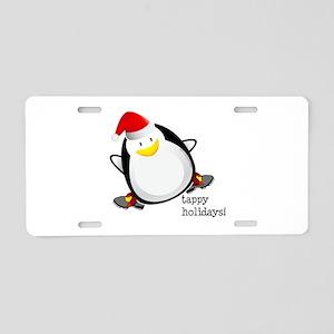Tappy Holidays! by DanceShirts.com Aluminum Licens
