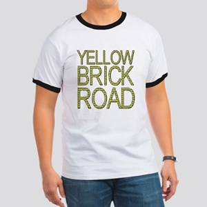 The Yellow Brick Road Wizard of Oz Ringer T