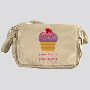 PERSONALIZE Fruit Cupcake Messenger Bag