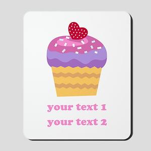 PERSONALIZE Fruit Cupcake Mousepad