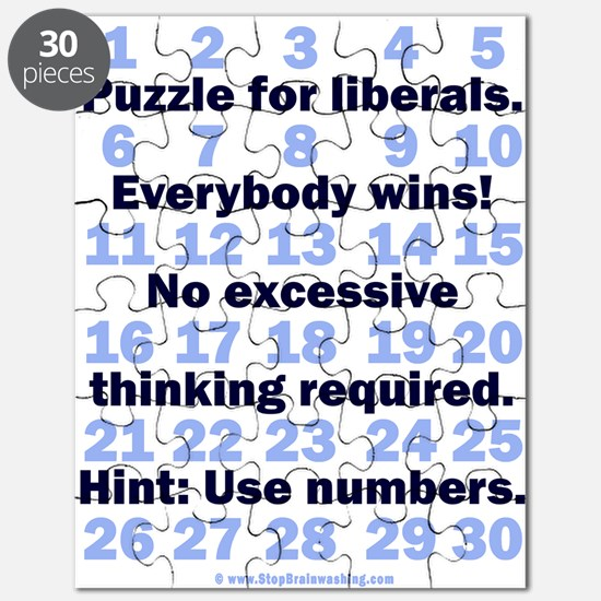 Puzzle for Liberals.