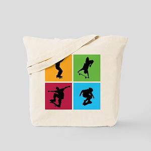 Nice various skating Tote Bag