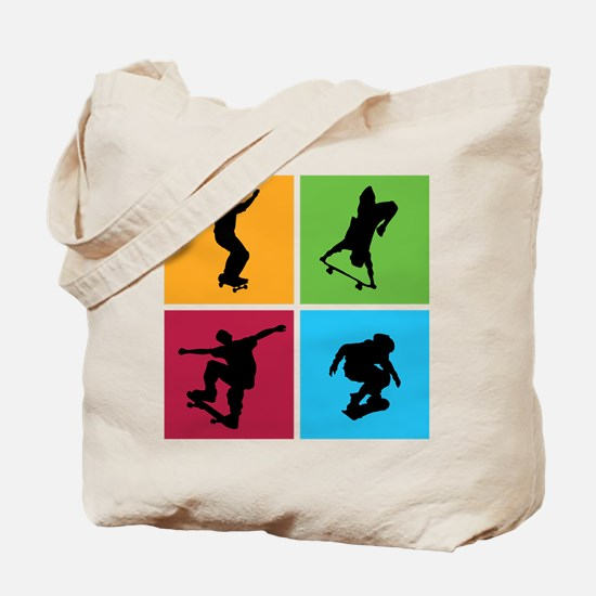 Nice various skating Tote Bag