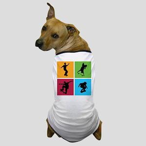 Nice various skating Dog T-Shirt