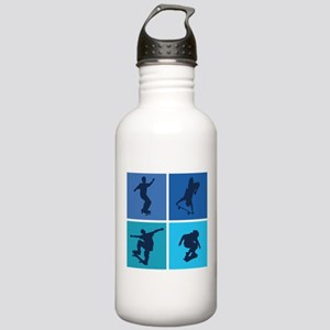 Nice various skating Stainless Water Bottle 1.0L