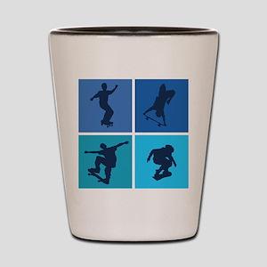 Nice various skating Shot Glass
