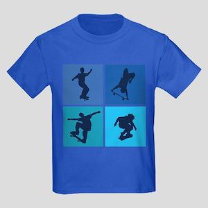 Nice various skating Kids Dark T-Shirt