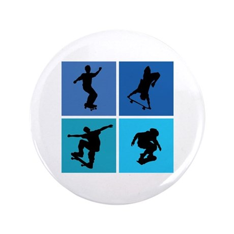 "Nice various skating 3.5"" Button (100 pack)"