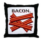 Bacon! Throw Pillow