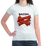 Bacon! Jr. Ringer T-Shirt