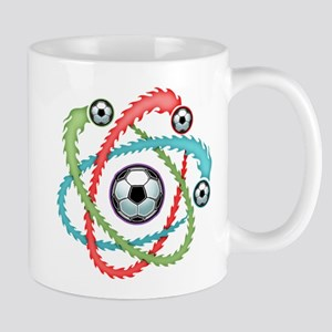Atomic Soccer Mug