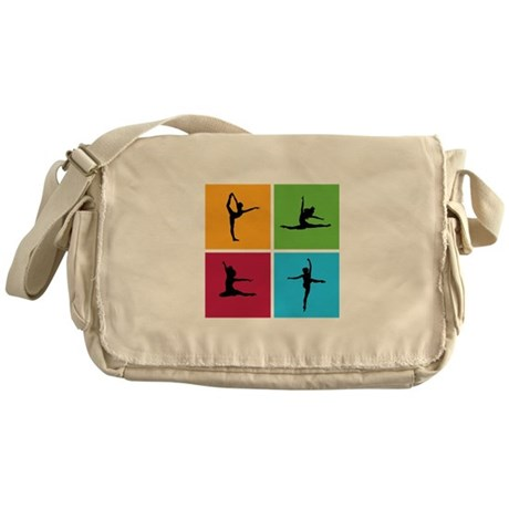 Nice various dancing Messenger Bag