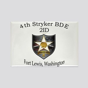 4the BDE 2ID Rectangle Magnet