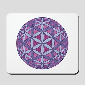 Flower of Life Sphere Mousepad