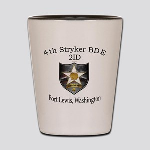 4the BDE 2ID Shot Glass