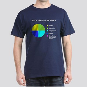 Math Used As Adult Dark T-Shirt