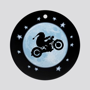 Moto Chris Ornament (Round)