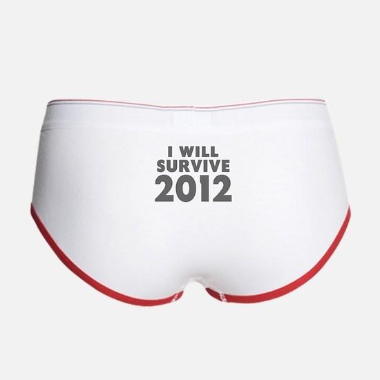I Will Survive 2012 Women's Boy Brief