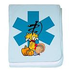 EMS Thanksgiving baby blanket