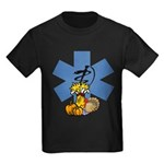 EMS Thanksgiving Kids Dark T-Shirt
