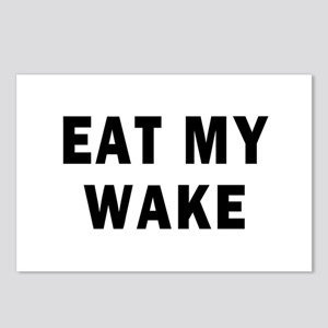 EAT MY WAKE Postcards (Package of 8)