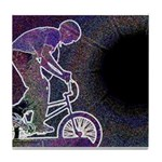 WillieBMX The Glowing Edge Tile Coaster