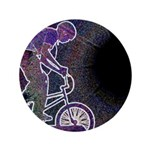 """WillieBMX The Glowing Edge 3.5"""" Button"""