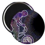 """WillieBMX The Glowing Edge 2.25"""" Magnet (10 pack)"""