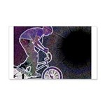 WillieBMX The Glowing Edge 22x14 Wall Peel
