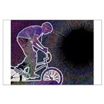 WillieBMX The Glowing Edge Large Poster