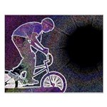 WillieBMX The Glowing Edge Small Poster