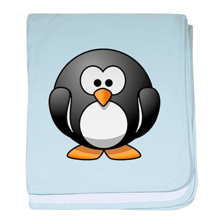 Cartoon Penguin baby blanket
