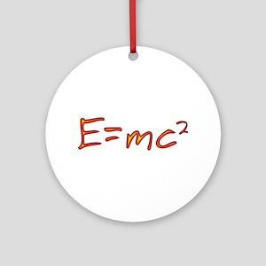 Incandescent Relativity Ornament (Round)