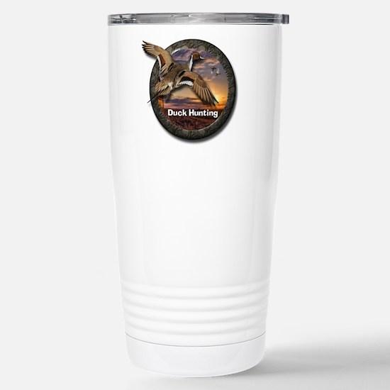 Stainless Steel Duck Hunting Travel Mug