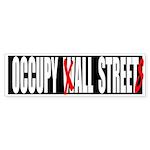Occupy All Streets Graffiti Sticker (Bumper 50 pk)