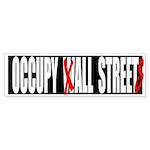 Occupy All Streets Graffiti Sticker (Bumper 10 pk)