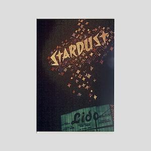 Las Vegas Stardust Hotel Rectangle Magnet