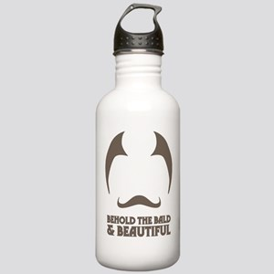Bald and Beautiful Stainless Water Bottle 1.0L