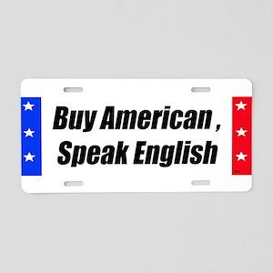 American Bumper-Sticker Aluminum License Plate