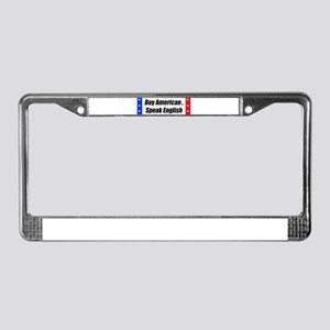 American Bumper-Sticker License Plate Frame