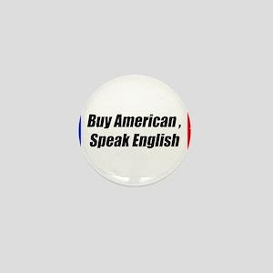 American Bumper-Sticker Mini Button