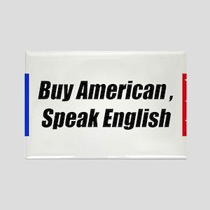American Bumper-Sticker Rectangle Magnet
